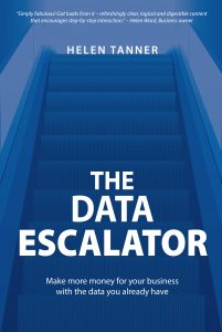 The Data Escalator by Helen Tanner